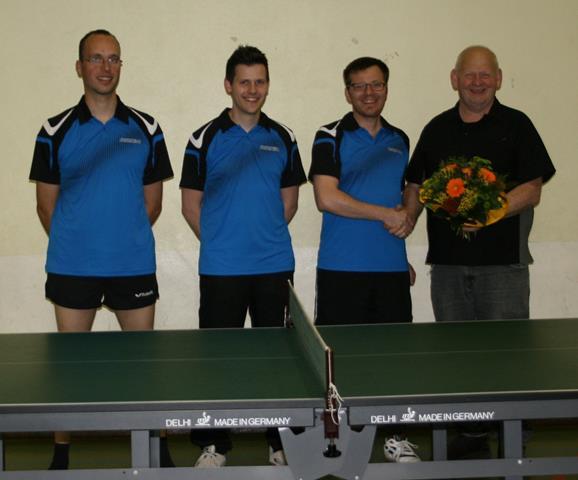 SG WH Tischtennis II. Herren neue Trikots