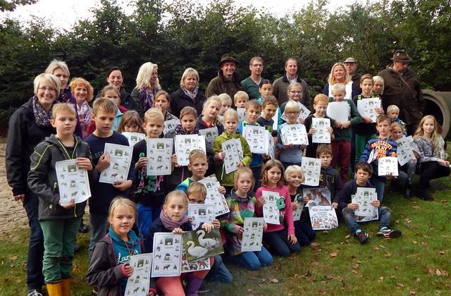 Waldjugendspiele Grundschule Walchum