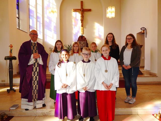 Neue Messdiener Heilige Familie - Kopie (Copy)