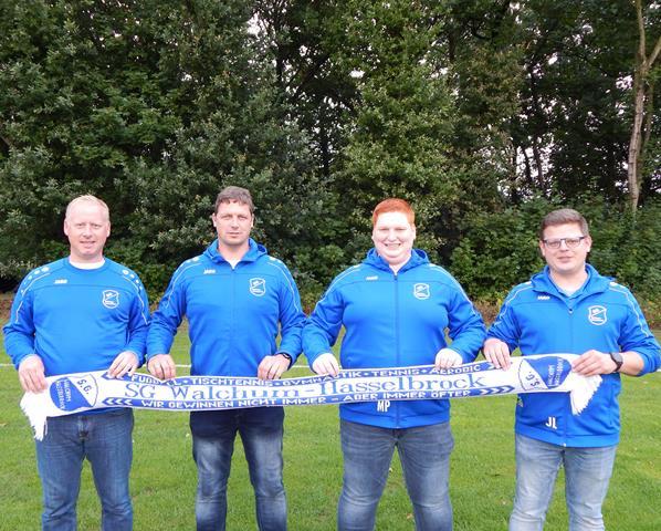 Neue Trainer der SG Walchum-Hasselbrock (Copy)