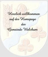 Das Wappen der Gemeinde Walchum